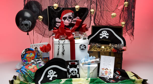 Adult pirate party decorations